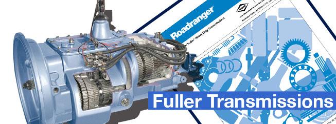 Rebuilt Fuller truck transmissions.